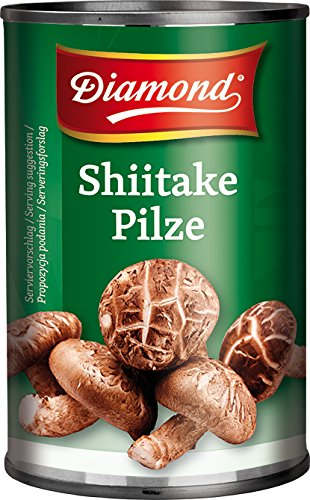 Diamond Setas Shiitake 280 g - Lot de 8