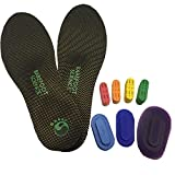 Barefoot Science Foot Strengthening System - 7-Step Therapeutic 3/4 Length - X-Large - Mens 12-13.5