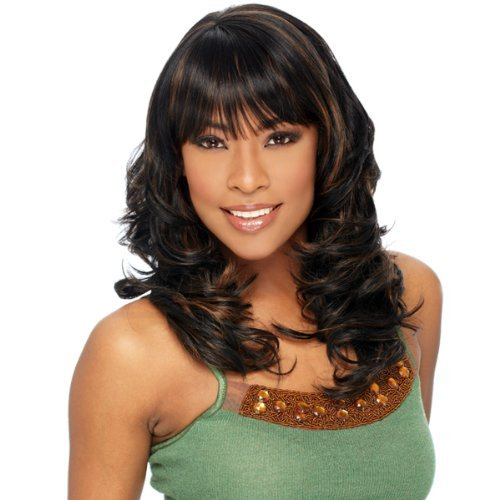 LUXURY GIRL - Shake N Go Freetress Equal Fullcap Band Wig #1B by Unknown