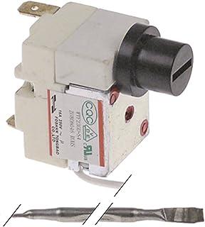 Bartscher Thermostat de sécurité pour friteuse Imbiss II, Imbiss I, Snack III 1 pôle, diamètre 4 x 100 mm, 1NC 230 °C, 410...
