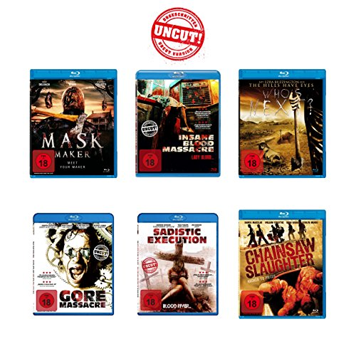 Splatter - (Uncut!) Blu-ray 6er Pack