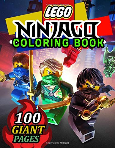 Lego Ninjago Coloring Book Super Coloring Book For Kids And Fans 100 Giant Great Pages With Premium Quality Images Buy Online In Japan At Desertcart Jp Productid 192584918