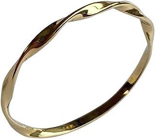 Lilliput(リリパット) ジュエリー 14k 14金 リング 指輪 イエローゴールド ピンキーリング 7-14号 (12号)