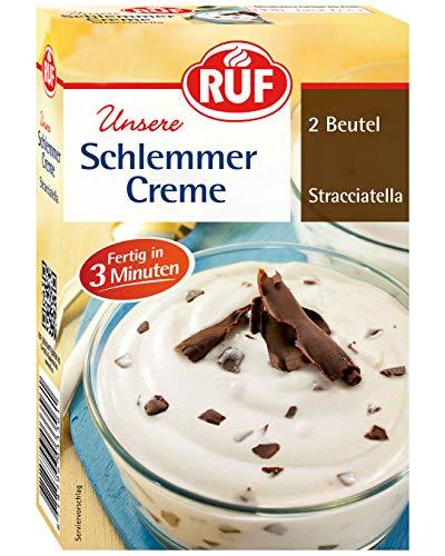 RUF Schlemmercreme Stracciatella, 10er Pack (10 x 600 ml Packung)