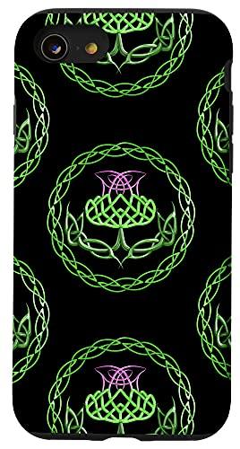 iPhone SE (2020) / 7 / 8 Scottish Thistle Celtic Knot Case