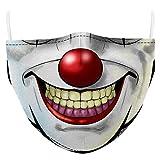 AIEOE Fun-Mundschutz Lustige Maske Staubdichtes Motorrad Halstuch Atmungsaktiv und Wiederverwendbar Farbe 10