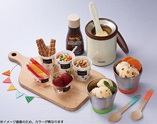 サーモス真空断熱アイスクリームメーカー200mlラムネKDA-200RN