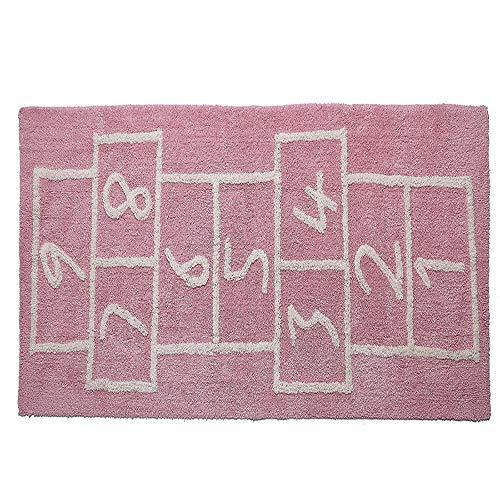 Small-rug Mode Enfants Tapis Chambre Douce Rose Tapis Designer Photo Tapis Enfants Tapis De Textile À La Maison pink-75 * 180cm