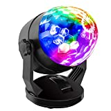 Best Disco Lights - Portable Sound Activated Party Lights for Outdoor Review