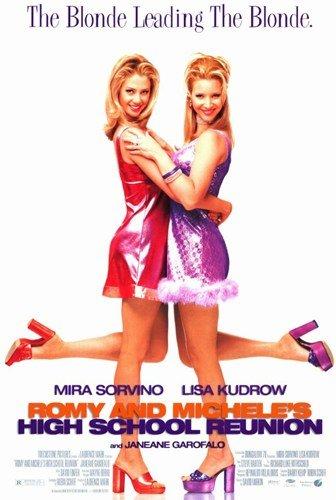 ArtFuzz Romy and Michelle's High School Reunion Movie Poster 11 X 17 inch