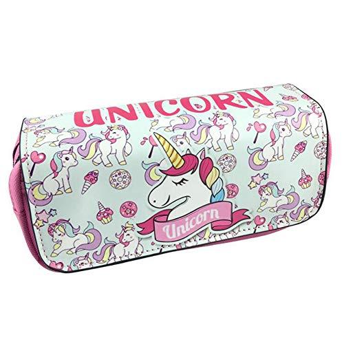 Unicorno Astuccio Portamatite Grande - Durevole Pencil Case con...