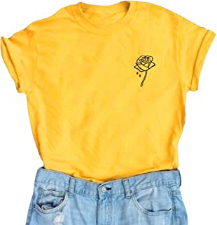 Women Cute T Shirt Juniors Graphic Tops Teen Girls Tee