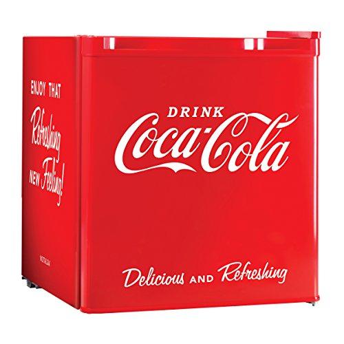 Nostalgia Electrics Coca-Cola Series CRF170COKE 1.7 Cubic Foot Mini Fridge