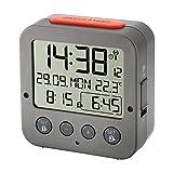 """TFA Radio-reloj despertador """"BINGO"""" 60.2528.10 anthracite"""