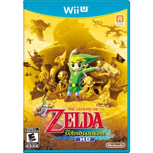 Amazon com: The Legend of Zelda: The Wind Waker HD - Wii U