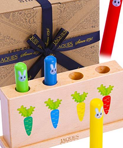 Jaques von London lasst Uns Hüpfhäschen Spielen Baby Spielzeug ab 6 Monaten – Perfket Kinder Spielzeug seit 1795