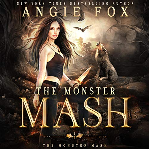 The Monster MASH Audiobook By Angie Fox cover art