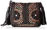 Antik Batik - Zitha Pouch, Bolsos bandolera Mujer, Noir (Black), 5x17x21 cm (W x H L)