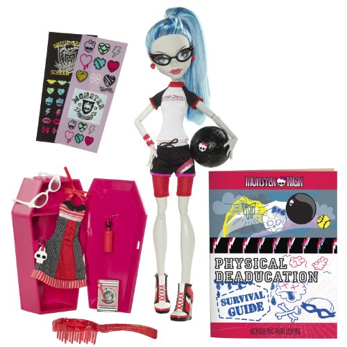 Mattel W2557 - Monster High Puppe Ghoulia Yelps, Tochter der Zombis