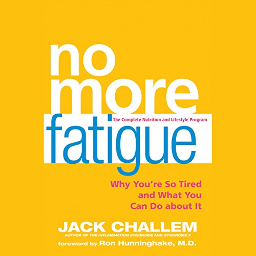 No More Fatigue audiobook cover art
