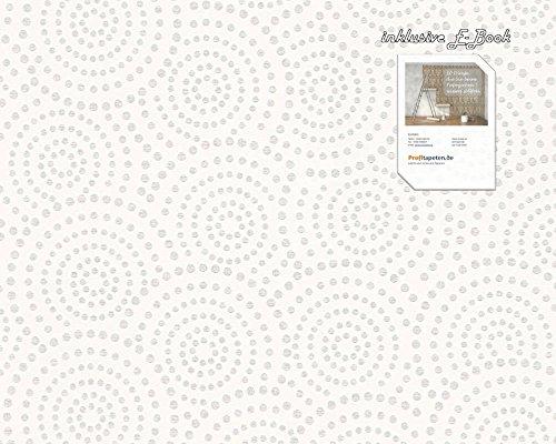 Tapete 327643 Kollektion Esprit 12 inklusive E-Book und Kleister,Creme, Natur, Grafik, Modern, A.S. Création, Vinyltapete 32764-3