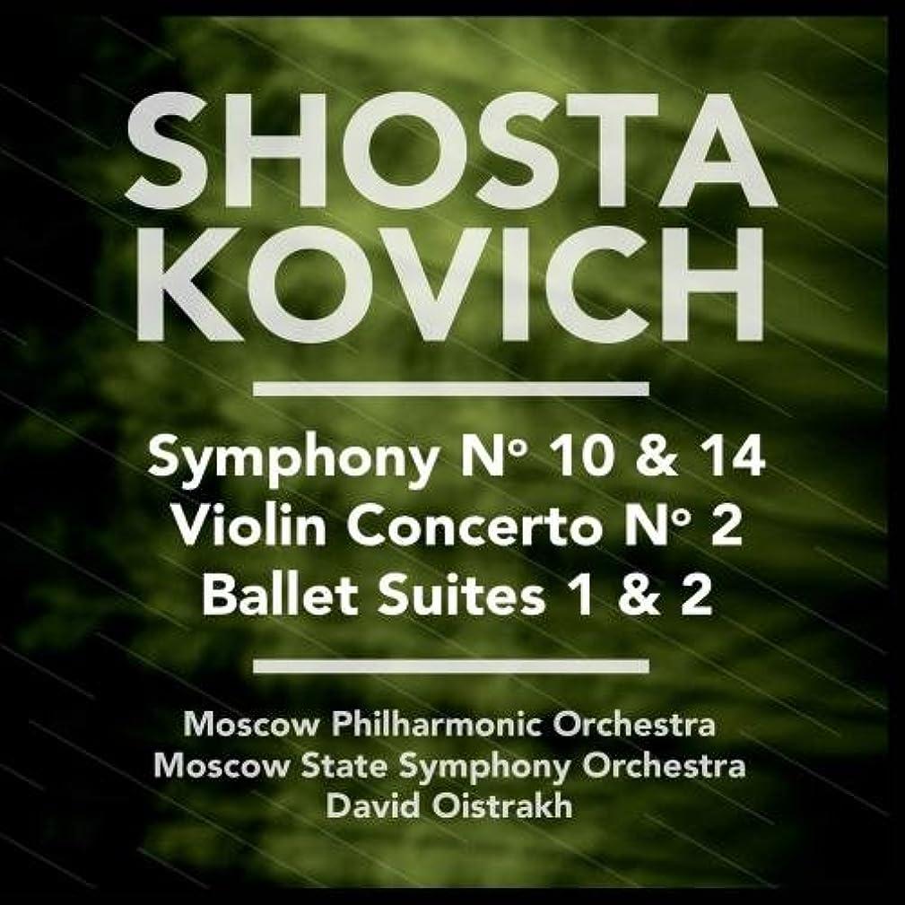 Shostakovich: Symphony No. 10 & 14 - Violin Concerto No. 2 - Ballet Suites 1 & 2