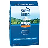 Natural Balance Original Ultra Premium Dry Dog Food, Chicken, Chicken Meal & Duck Meal Formula, 30 Pounds