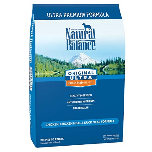 Natural Balance Original Ultra Grain Free Dog Food, Chicken, Chicken Meal & Duck Meal Formula, 30 Pounds