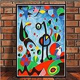 Danjiao Famosos Carteles E Impresiones Lienzo Abstracto Moderno Cuadros De La Pared Para La Decoración De La Sala De Estar Decoración Del Hogar Affiche Sala De Estar Decor 40x60cm