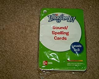 Imagine It!, Sound/Spelling Cards, Levels 1-3