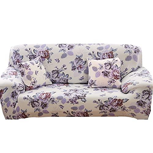 WXQY Funda de sofá elástica,Funda de sofá Modular,Funda de sofá de salón,Funda de sillón en Forma de L Antideslizante Envuelto herméticamente A3 1 Plaza