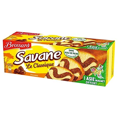 Brossard Savane Classique Chocolat 300g (lot de 3)