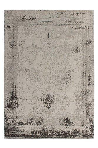 Kayoom Teppich, Baumwolle, Anthrazit, 120x 14x 14cm