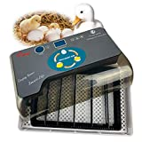 Professional Egg Incubator, 4-35 Eggs Digital Egg Hatcher with Automatic Egg Turning, Home Use Fully Automatic Egg Hatching Machine for Chickens Ducks Birds Goose Quail Eggs, Lab Incubators