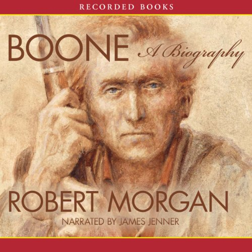 Boone audiobook cover art