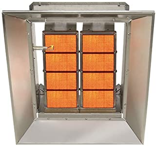 SunStar Heating Products Infrared Ceramic Heater - NG, 80,000 BTU, Model Number SG8-N