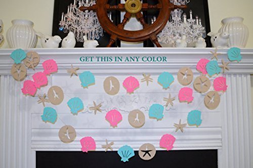 Sand Dollar seashell unisex wedding garland Cheap mail order sales under p the sea birthday