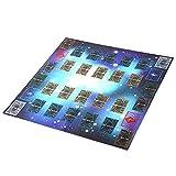 TianranRT Éducation Tapis de Jeu de Tapis de Compétition de Style Galaxy 60X60cm pour Tapis de Jeu en Caoutchouc pour Carte Yu-Gi-Oh