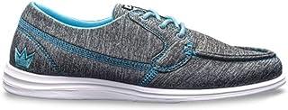 Brunswick Ladies Karma Sport Bowling Shoes- Grey/Blue