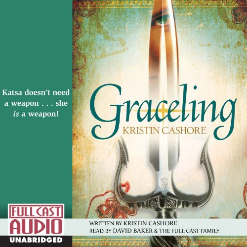 Graceling audiobook cover art