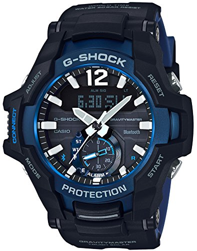 [カシオ] 腕時計 ジーショック GRAVITYMASTER Bluetooth 搭載 ソーラー GR-B100-1A2JF メンズ