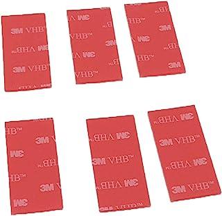 3M VHB - Cinta adhesiva de doble cara (paquete de 6 paneles), color transparente