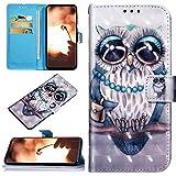 Robinsoni Custodia Compatibile con Samsung Galaxy A50 Case Portafoglio Cover Libro Case Pe...