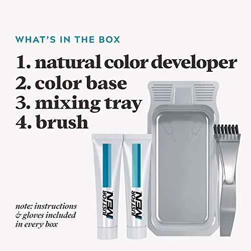 Just For Men Gel coloré moustache et barbe, 1kit, (Lot de 3) Light-Medium BrownM-30