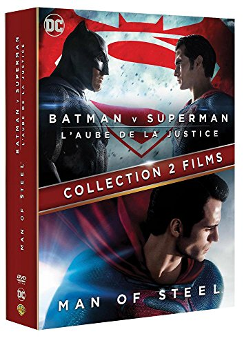 Collection 2 films : Batman v Superman : L'aube de la justice + Man of Steel