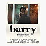 Bill Noho Movie Hank Barry Hader Hbo A24 Indie Home Decor Wall Art Print Poster !