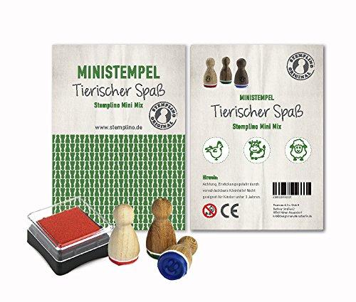 Stemplino Stempelset 3er Pack / 10 verschiedene Motivmixe zur Auswahl