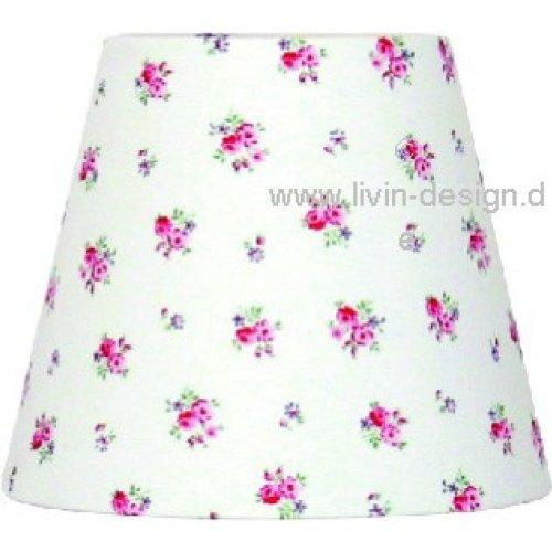 Livin-design Abat-Jour 16–10–12,5 Rond Princess Blanc E14
