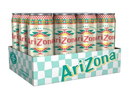 AriZona Iced Peach Tea Dosen, (12x0.5l), 6 l