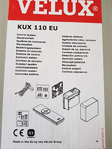 VELUX Steuereinheit KUX 110 EU, Einzelsteuerung